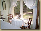 Photo of Riverview Room window at Haliburton accommodation